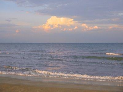Il mare di Senigallia, settembre 2005