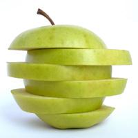 Una mela campionata