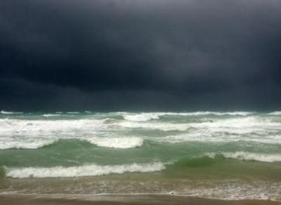 Foto Reuters dell'uragano Rita