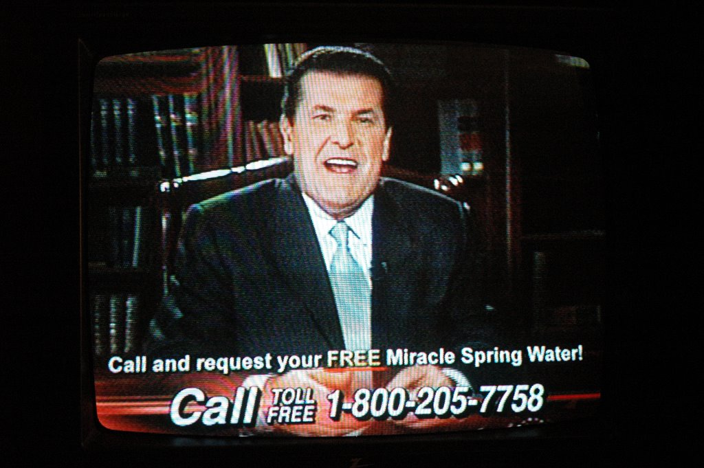 deep thoughts nutball alert peter popoff