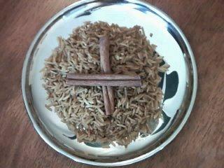 Les gourmandises de dionysus riz deux couleurs riz au safran - Quantite de riz par personne ...