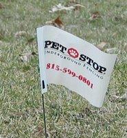 Pet Stop Flag