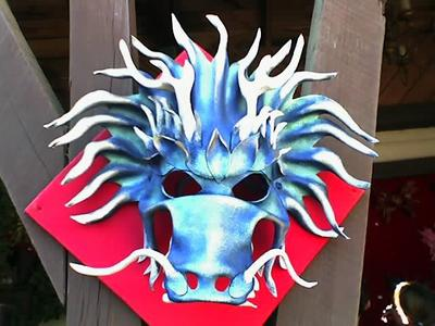 Fantasy leather mask at the Renaissance Festival