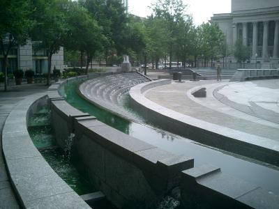 the Navy Memorial
