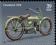 Motorcycle Stamp
