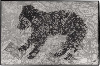 Abstraction Of Dog