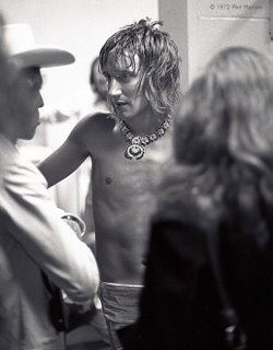 Rod Stewart Backstage 72