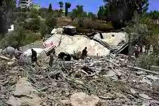 Supuesta base militar libanes (un hogar)