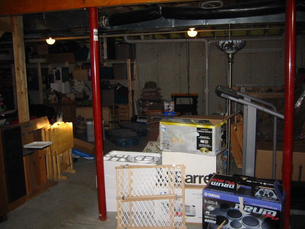 my basement finishing project december 2005