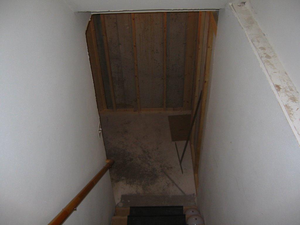 my basement finishing project framing day 3