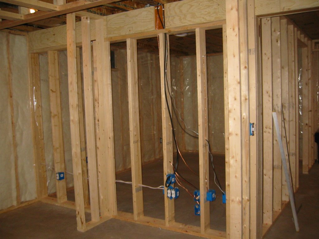 my basement finishing project insulation complete