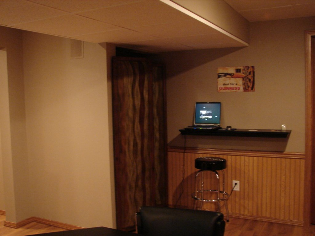 my basement finishing project pub room guinness style
