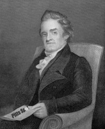 Noah Webster: illicitly borrowing the Spot.