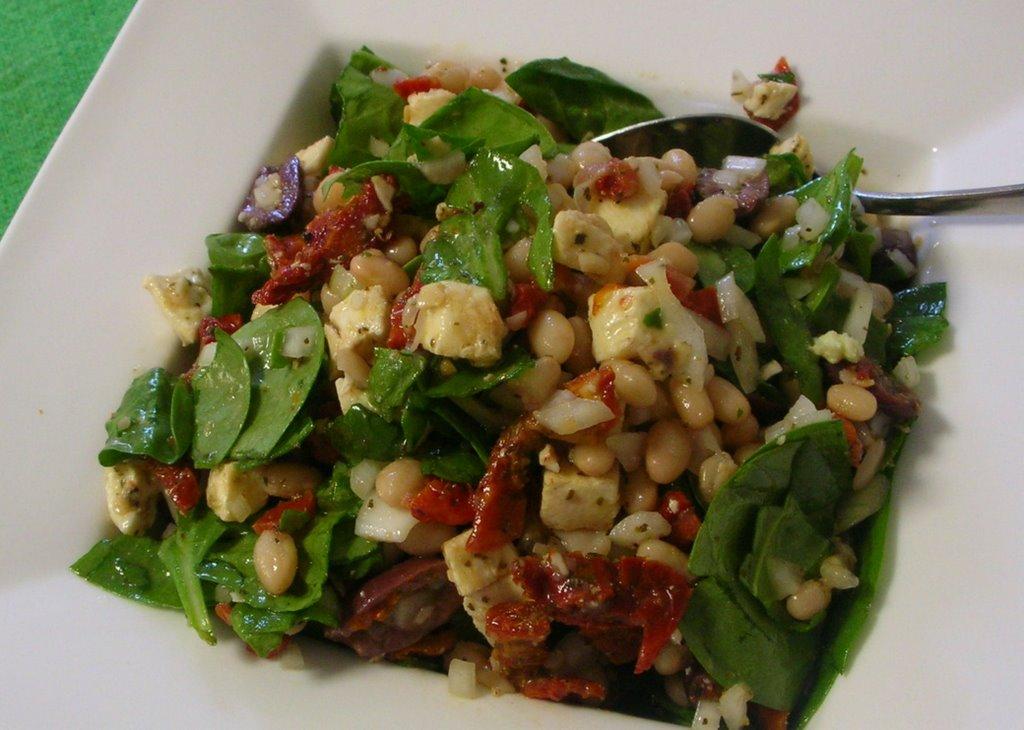 Tuscan Bean Salad | A Veggie Venture: Tuscan Bean Salad