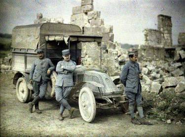 World War One Color Photos