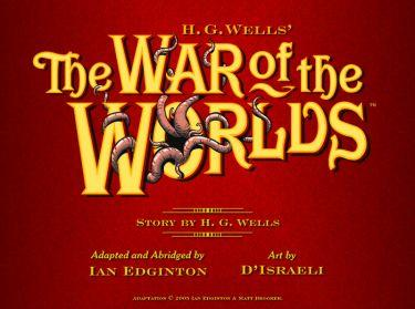 The War of the Worlds eComic