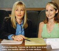 Patricia Arquette e Allison DuBois