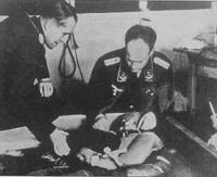 Testes com prisioneiro num campo nazista: aveia contaminada servida a crianças deficientes.