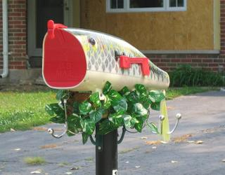 Fish Mouth Mailbox