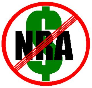 Ask candidates for office if they take money from the NRA and if they do, don't vote for them.