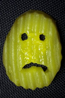 Sad pickle face