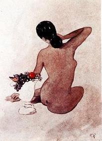 Desnudo - Obra Pictorica del Dr. De La Ferriere -
