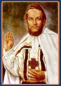 El Dr. De La Ferriere en la epoca de su Peregrinaje como Misionero Universal.