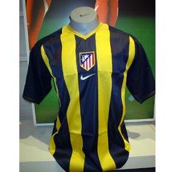 camiseta amarilla atletico de madrid