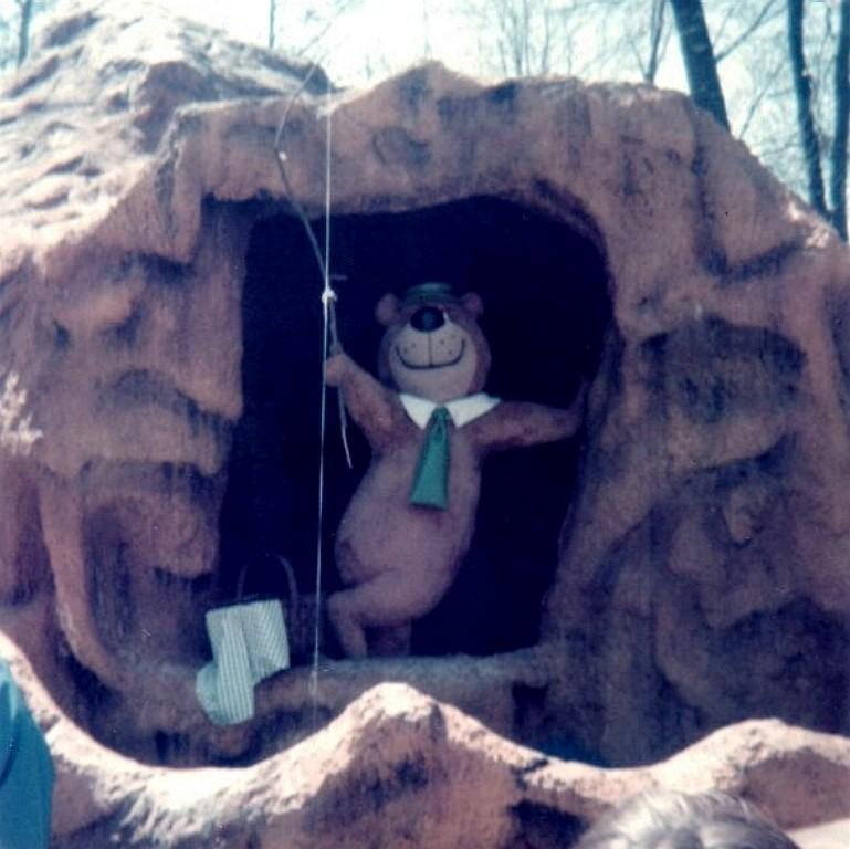 Yogi s Cave was one of those Kings Dominion Treasure Cave