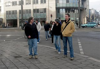 walking around in Berlin. we did ALOT of that.