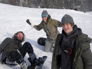 snowboarding in sweden, and teaching the new guys a thing or two
