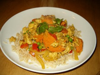 It's A Keeper: Chicken and Sweet Potato Curry-in-a-Hurry