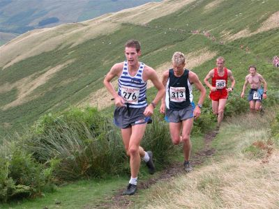 Jebb in the Sedbergh Hills race 2005