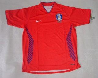 Official South Korea National Team Shirt 2006 - Home