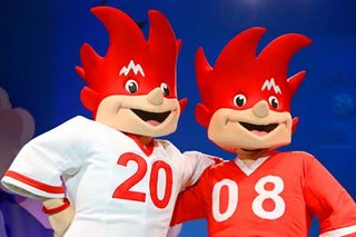 Euro 2008 mascots - copyright www.GEPA-pictures.com