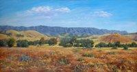 Elder Range oil painting