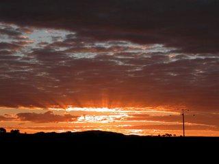 Sunset, Southern Flinders