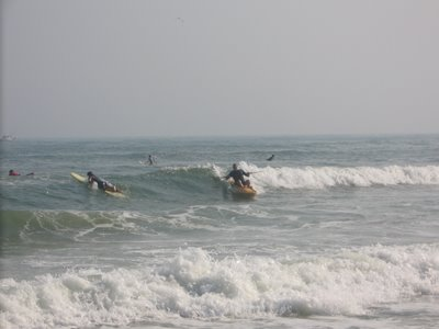 Ocean Kayaking at Ponquogue Beach, Hampton Bays, July 3rd