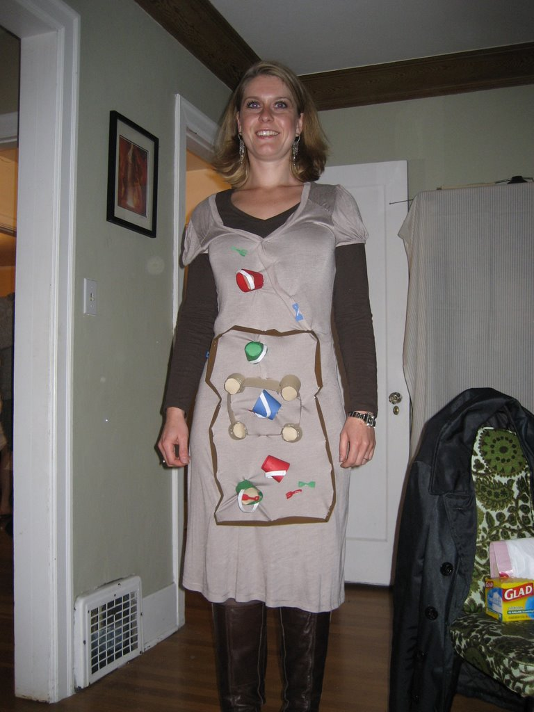 hurtig halloween udklædning