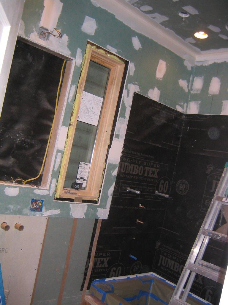 Cement Board Drywall : Bliz drywall in cement board starts mud tape