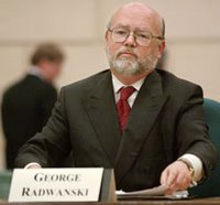 George Radwanski (CP file photo)