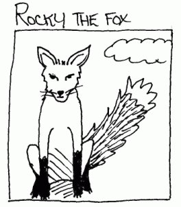 Rocky the fox