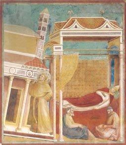 El sueño de Inocencio. Giotto
