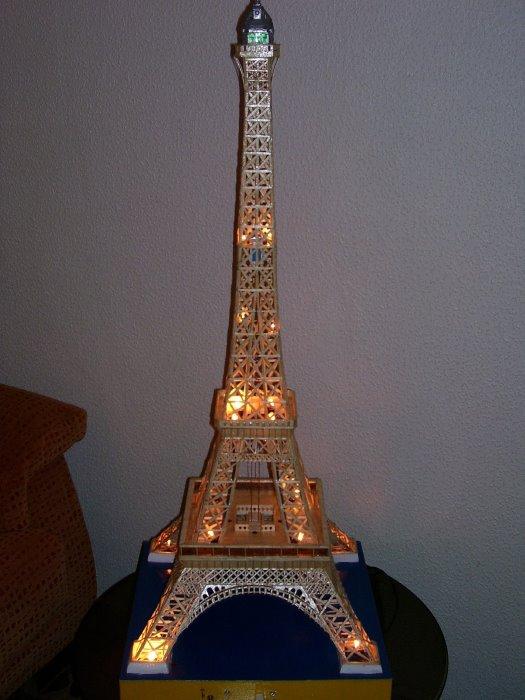Como Hacer Una Torre Eiffel De Madera