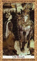 A Força - Golden Tarot