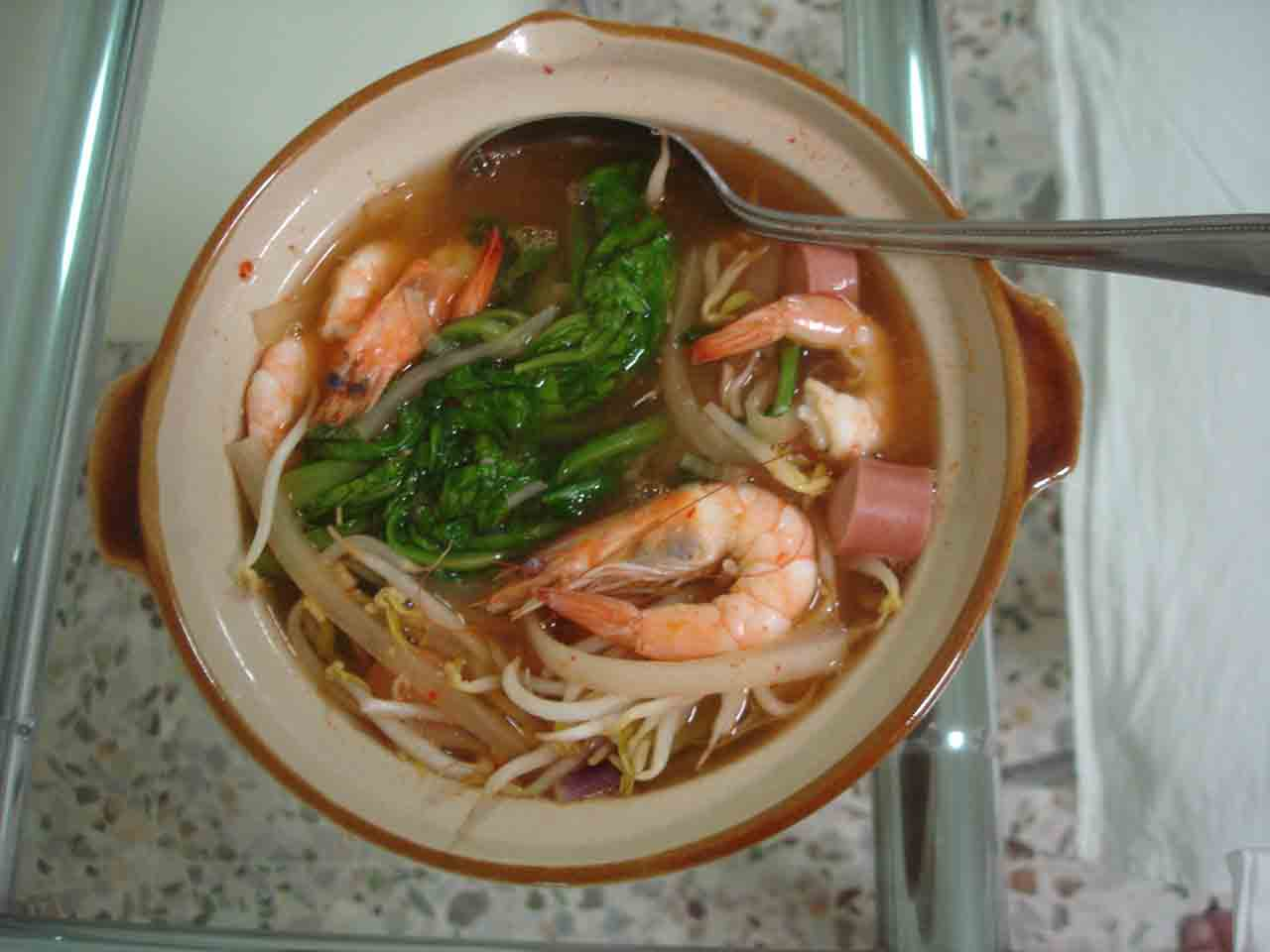 Korean Dog Soup Korean Prawn And Hot Dog Spicy