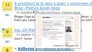 Websnaper na Linkuj.cz