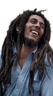 Bob Marley en una imagen de archivo