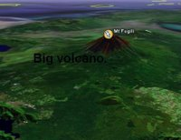 Mt Fuji on Google Earth!