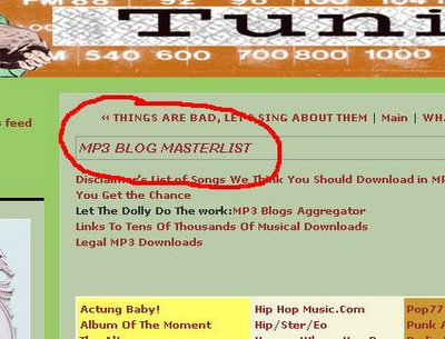 Give, Get, Take, Have - ggth - MP3 blog masterlist - the best list there is..
